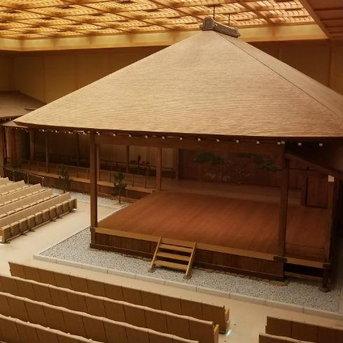 横浜能楽堂の発泡ウレタン吹付け施工も当社が請け負いました